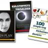Tre bogomslag for Haases Forlag