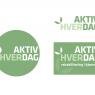 Dette logo for Rudersdal Kommune bliver brugt i flere forskellige udgaver
