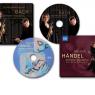 Cd-omslag til Dorthe Zielke og Søren Johannsens albums med musik af henholdsvis Bach og Händel. Musikforlaget Naxos