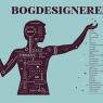 Plakat til udstillingsstand for 'Foreningen for boghåndværk' på Bogforum 2014