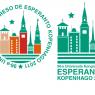 To logoer brugt til Verdenskongressen for esperanto i Bella Center 2011