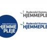 Logo for Rudersdal Kommunes hjemmepleje i forskellige variationer