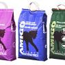 Emballage til forskellige typer kattegrus - på forskellige sprog - lavede jeg sammen med Henrik Lisby